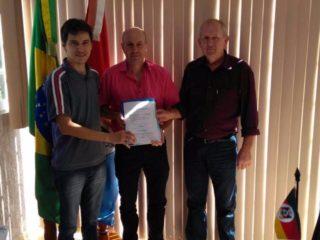 Prefeito Dionisio Pedro Wagner juntou-se ao quadro de associados da AFMT