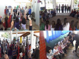 Secretaria da Educação de Lagoa distribui doces para as crianças da Rede Municipal