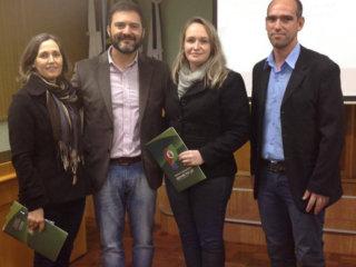 Vereadores de Lagoa dos Três Cantos participaram de palestra sobre atuação do Legislativo promovida pela Câmara de Vereadores de Não-Me-Toque