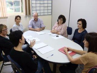Reunião foi realizada com a Direção da Escola Joaquim José da Silva Xavier