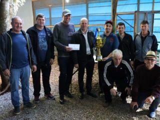 Realizada a entrega da premiação do Campeonato Municipal de Bocha Edição 2017