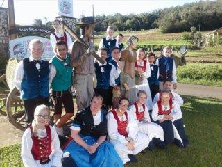 Grupo Folclórico Cultivo do Passado marcou presença na 20ª Kinderfest