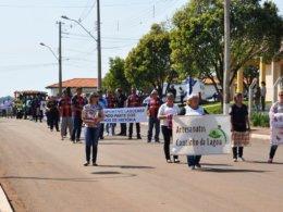 Desfile de 7 de Setembro é resgatado em Lagoa dos Três Cantos