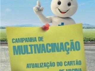 Campanha Nacional de Multivacinação para Atualização de Caderneta de Vacinação
