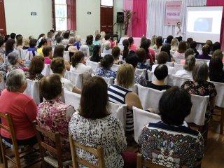 Outubro Rosa: encontro destacou a importância dos cuidados com a saúde da mulher