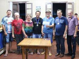 Premiação do Campeonato de Canastra Masculino foi entregue