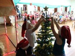 Escola Professora Eida da Silveira realizou apresentações de Natal