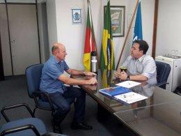 Prefeito Dionisio visitou presidente da FAMURS