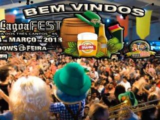 17ª Lagoa Fest iniciará nesta sexta-feira 02 de março em Lagoa dos Três Cantos