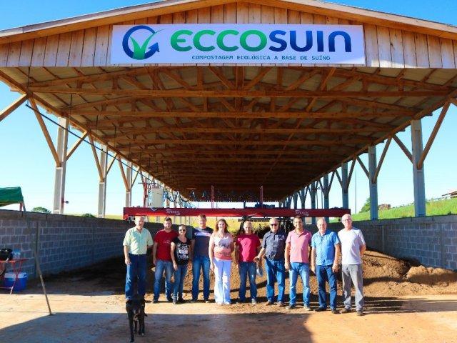 Administração acompanhou o trabalho da empresa Eccosuin no Município