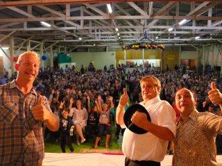 26º Aniversário de Lagoa dos Três Cantos foi comemorado com muita alegria