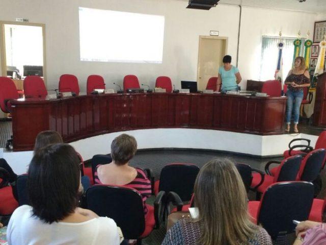 Reunião dos membros do Fórum Municipal de Educação