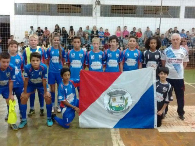 Escolinha Multiesportiva estreou no Campeonato Regional de Futsal Categorias de Base Edição 2018