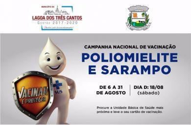 Campanha Nacional de Vacinação contra a Poliomielite e o Sarampo