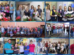Administração Municipal entrega Lembrança a Servidores Públicos