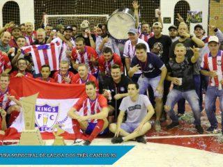 Final do Campeonato Municipal de Futsal Força Livre- KING´S BEER CAMPEÃO