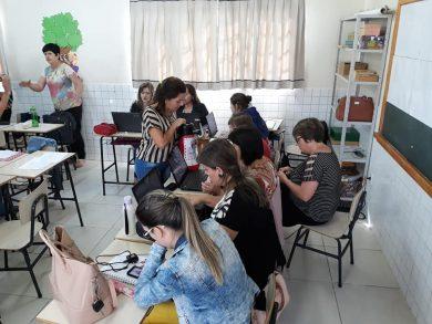 Professores das redes Municipal e Estadual realizaram estudos da BNCC