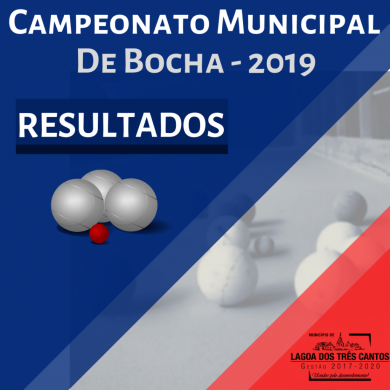 7ª RODADA MUNICIPAL DE BOCHA – RESULTADOS