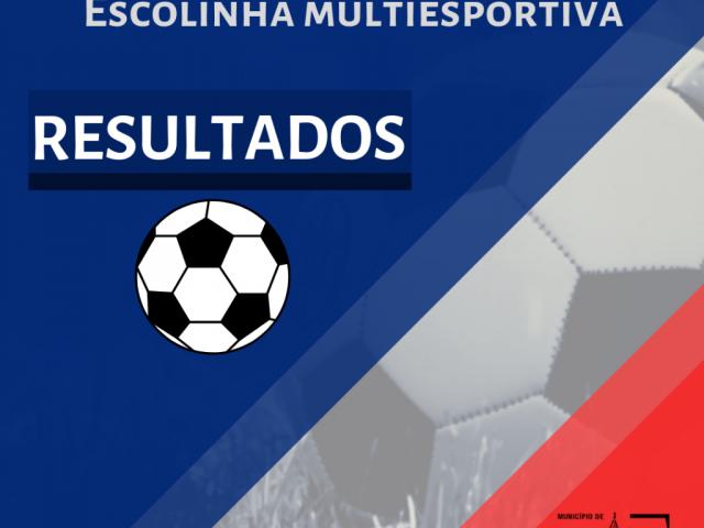 Resultado referente ao jogo da Escolinha Multiesportiva de Lagoa dos Três Cantos X Ipiranga de Campos Borges