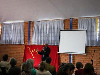 Reunião Mensal da Educação da AMAJA aconteceu em Lagoa dos Três Cantos.