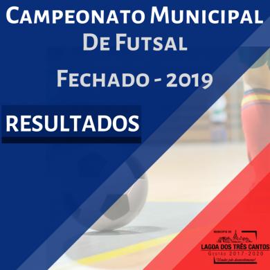 RESULTADO DA 4ª RODADA DE FUTSAL FECHADO 2019