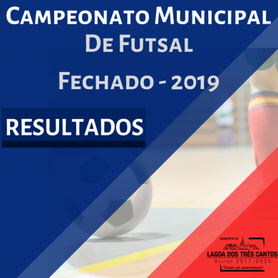 RESULTADO 9ª RODADA MUNICIPAL FUTSAL 2019 – FINAL