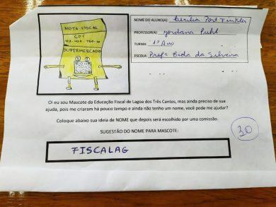 ACONTECEU A 2ª FASE DO CONCURSO DO MASCOTE DA EDUCAÇÃO FISCAL