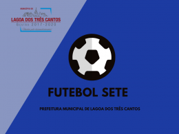 RESULTADO 3ª RODADA MUNICIPAL FUTEBOL SETE-SOCIETY-2019/2020