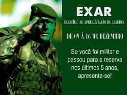Junta Militar de Lagoa dos Três Cantos convoca reservistas para EXAR 2019