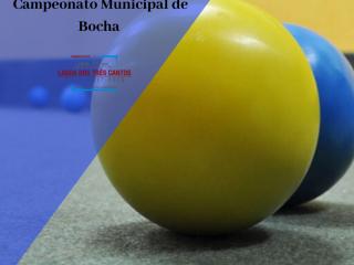 CAMPEONATO MUNICIPAL DE BOCHA EDIÇÃO 2020