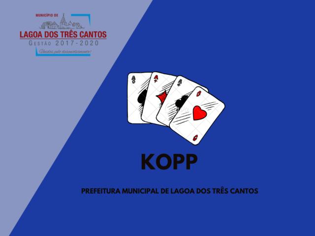 RESULTADO DO CAMPEONATO MUNICIPAL DE KOPP/2020