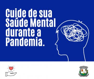 Cuidados para a Saúde Mental durante a Pandemia