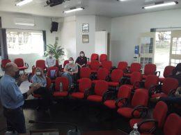 Autoridades Locais se reuniram para discutir assuntos referentes à prevenção e combate ao Coronavírus no município