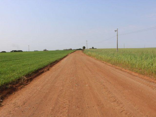 Recuperação de Estradas no Interior
