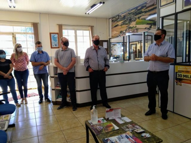 Administração de Lagoa dos Três Cantos iniciou governo com reuniões nas secretarias e departamentos.