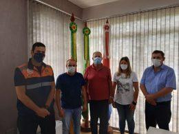 Coordenador adjunto da Defesa Civil esteve em Lagoa dos Três Cantos