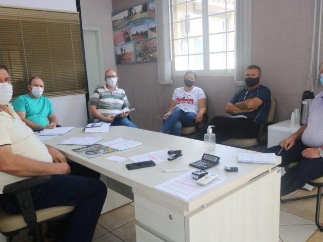 Secretariado de Lagoa dos Três Cantos esteve reunido com prefeito e vice