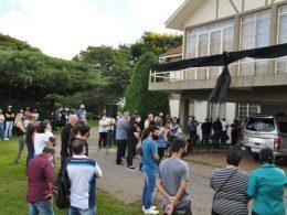 Administração municipal realiza solenidade de despedida para o vice-prefeito de Lagoa dos Três Cantos