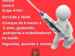 Vacinas contra gripe H1N1