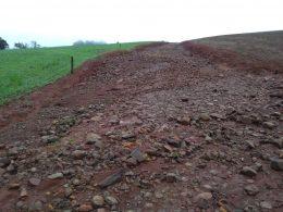 Fortes chuvas causam estragos nas estradas do interior de Lagoa dos Três Cantos