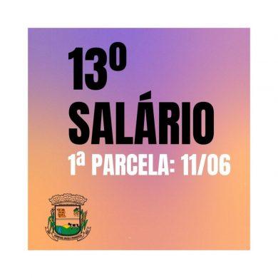 Prefeitura antecipa primeira parcela do 13º salário