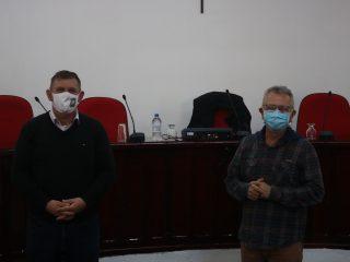 Secretário de Articulação e Apoio aos Municípios Luiz Carlos Busato visitou Lagoa dos Três Cantos