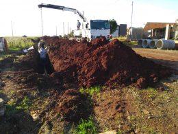 Secretaria de Obras prepara base para pavimentação asfáltica