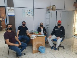 Vereadores de Selbach visitam secretaria de Agricultura de Lagoa dos Três Cantos