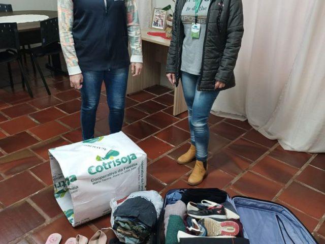 Assistência Social de Lagoa dos Três Cantos recebeu doações de associados da Cotrisoja