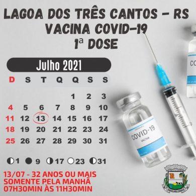 Próxima etapa da vacinação contra a Covid-19