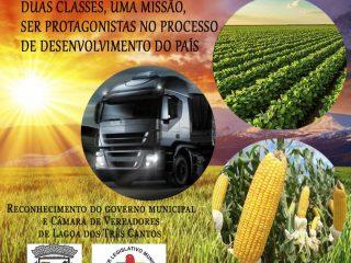 Mensagem do governo Municipal e Câmara de Vereadores de Lagoa dos Três Cantos