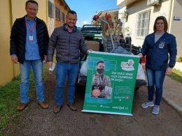 Assistência Social recebe doação de alimentos