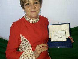 """Professora Ires Fath recebe a homenagem """"Caminhos de Anita"""""""